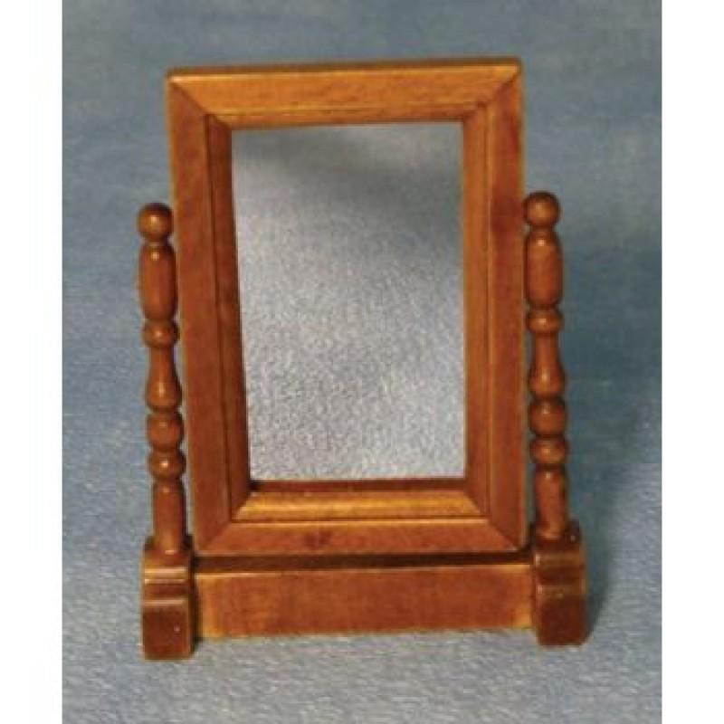 Oak Swivel Mirror
