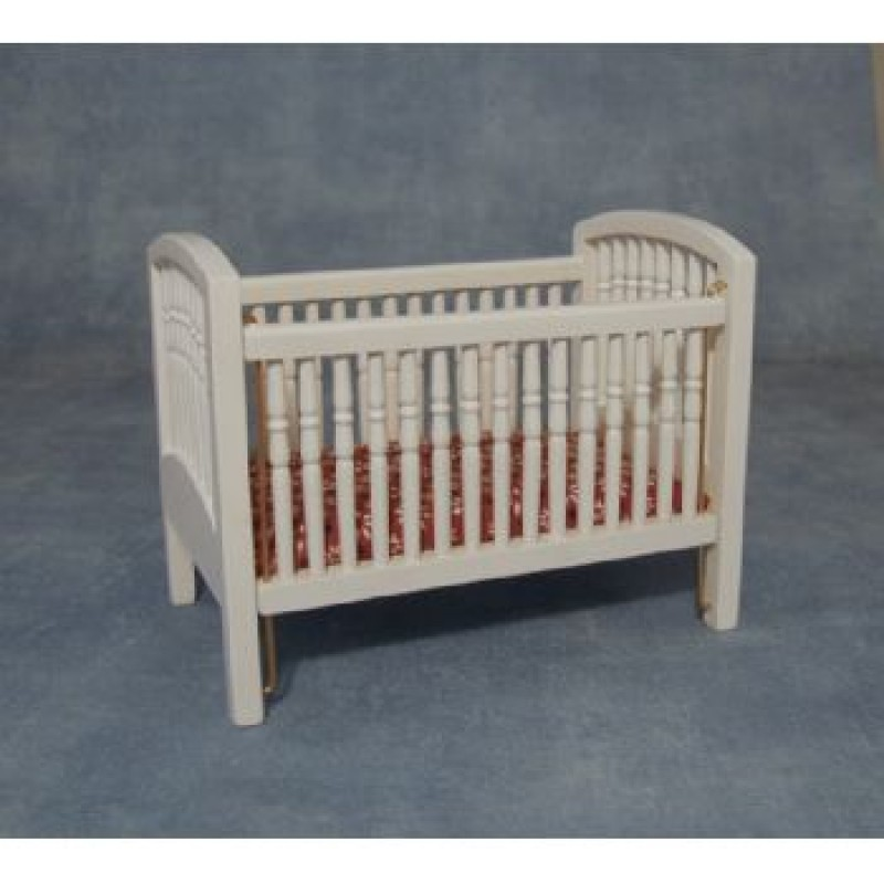 White Large Cot