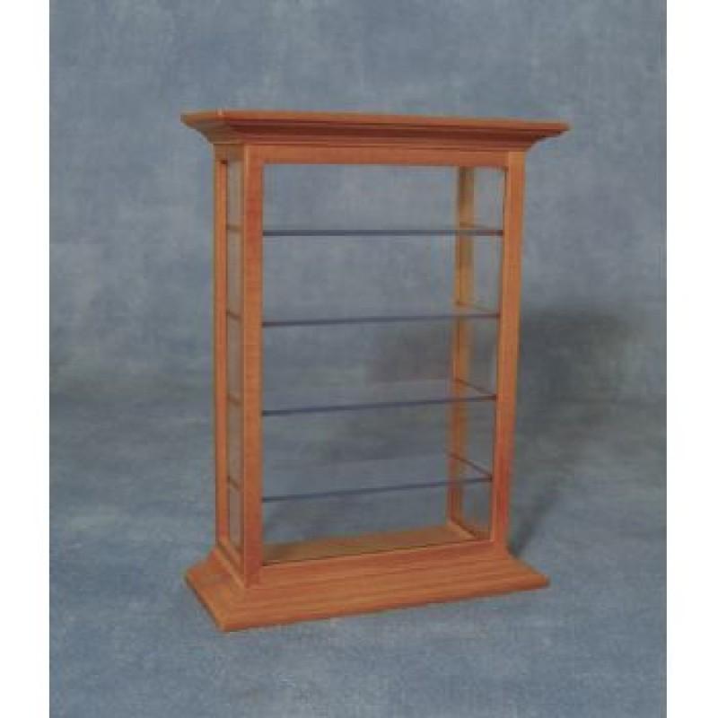 Pine Shelf Display Cabinet