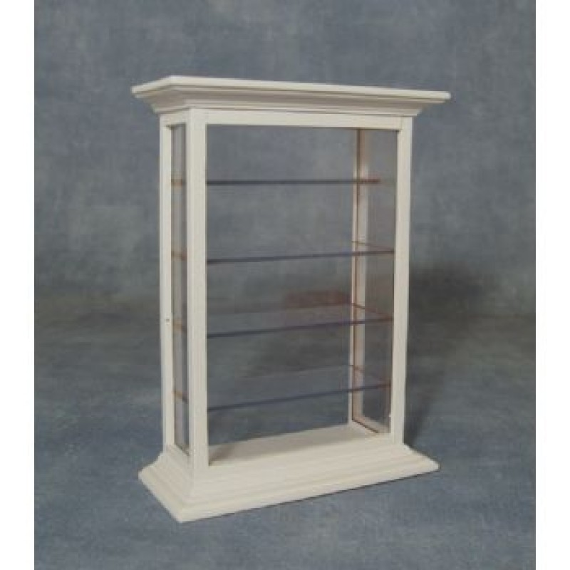 White Shelf Display Cabinet