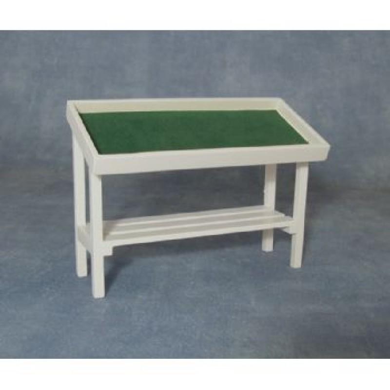 White Stall Shelf