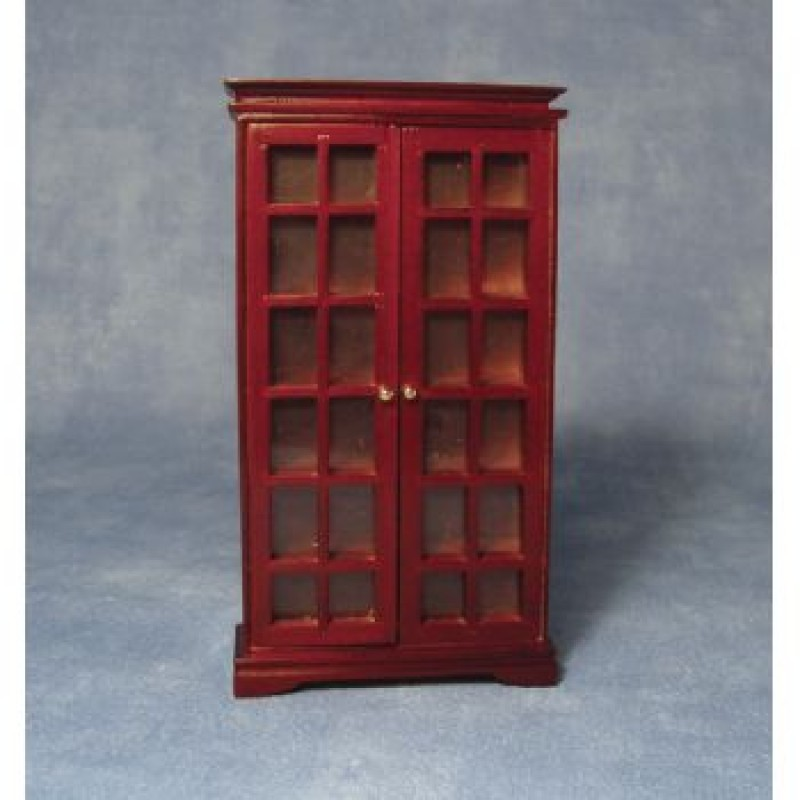 Mahogany Book Cabinet