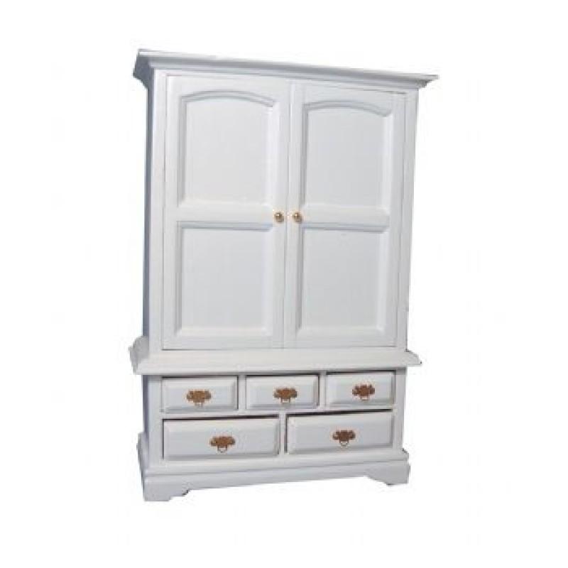 White Blanket Cupboard