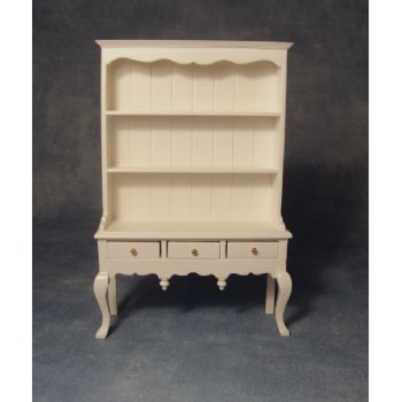 White Queen Anne Dresser