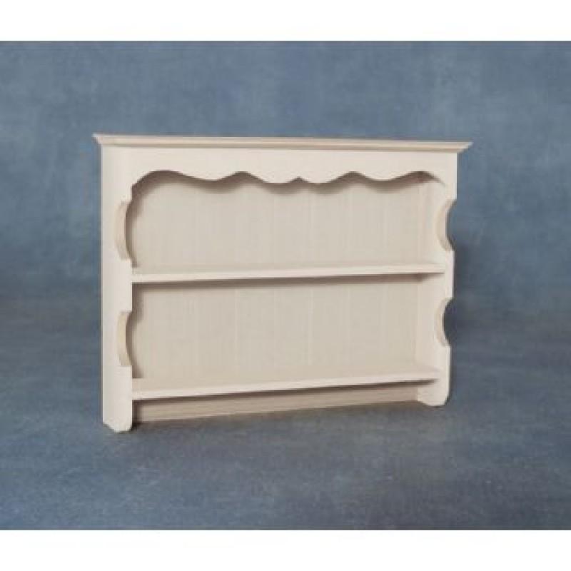 White Dresser Top Shelves