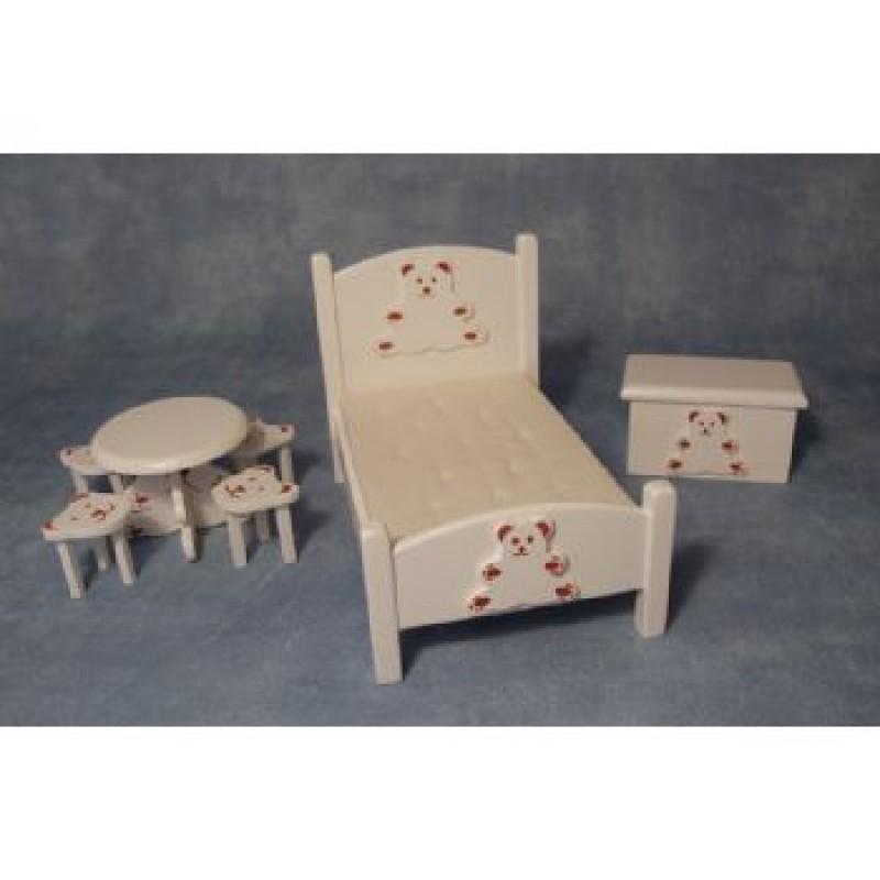 White Bear Bedroom Set