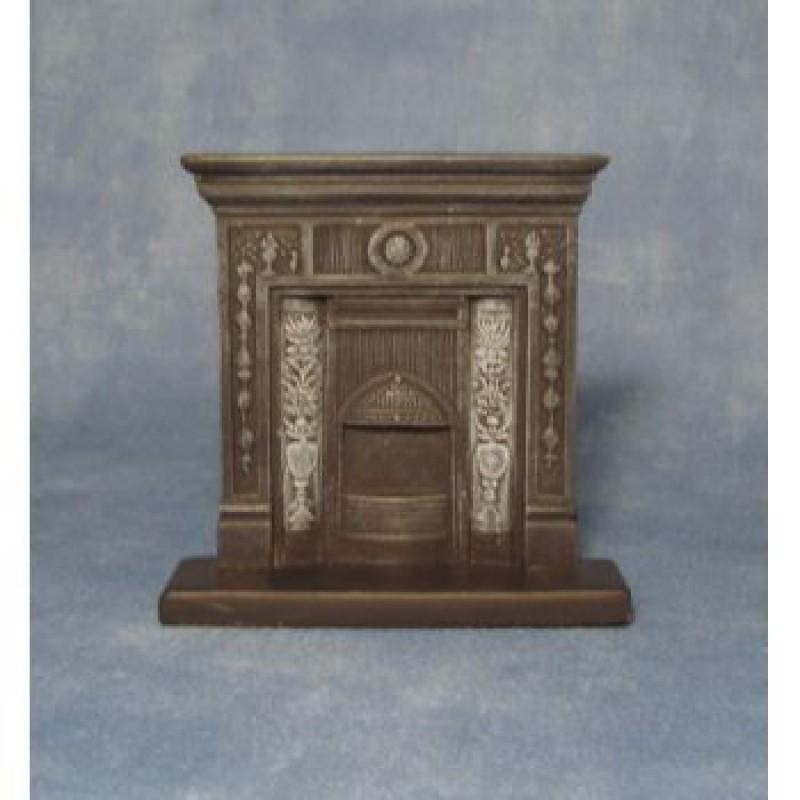 Cast Iron' Fireplace