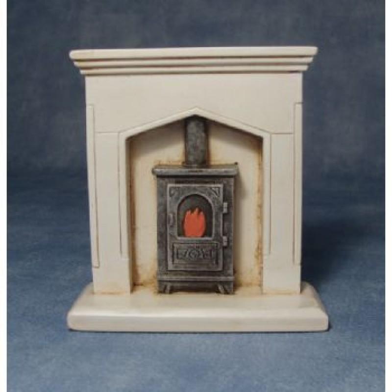 Fire Surround & Wood Burner