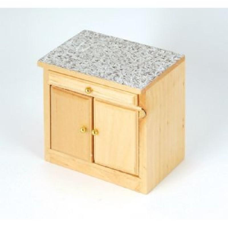Pine Modern Kitchen Cupboard