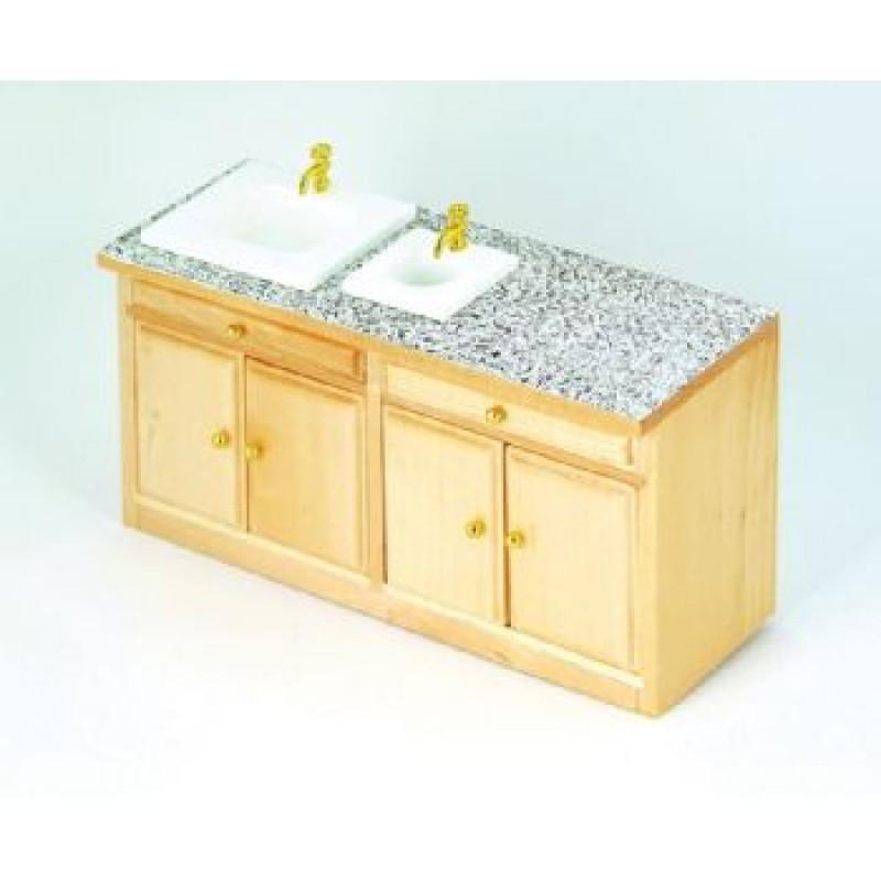 Pine Modern Long Sink Unit