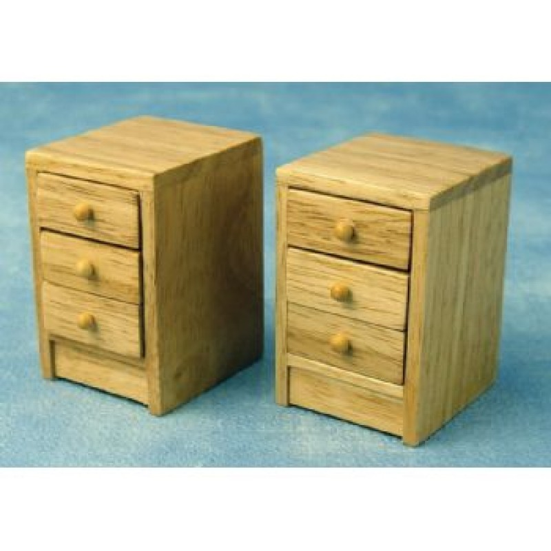 Modern Bedside Cabinets, 2 pieces