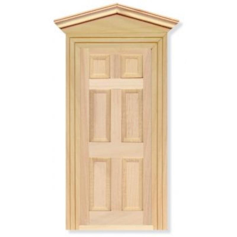 Exterior Door including Frame