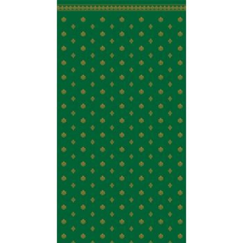 A3 Fine Qual Garden Crest Green & Ivory