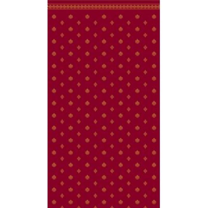 A3 Fine Qual Garden Crest Burgundy & Ivory Wallpaper