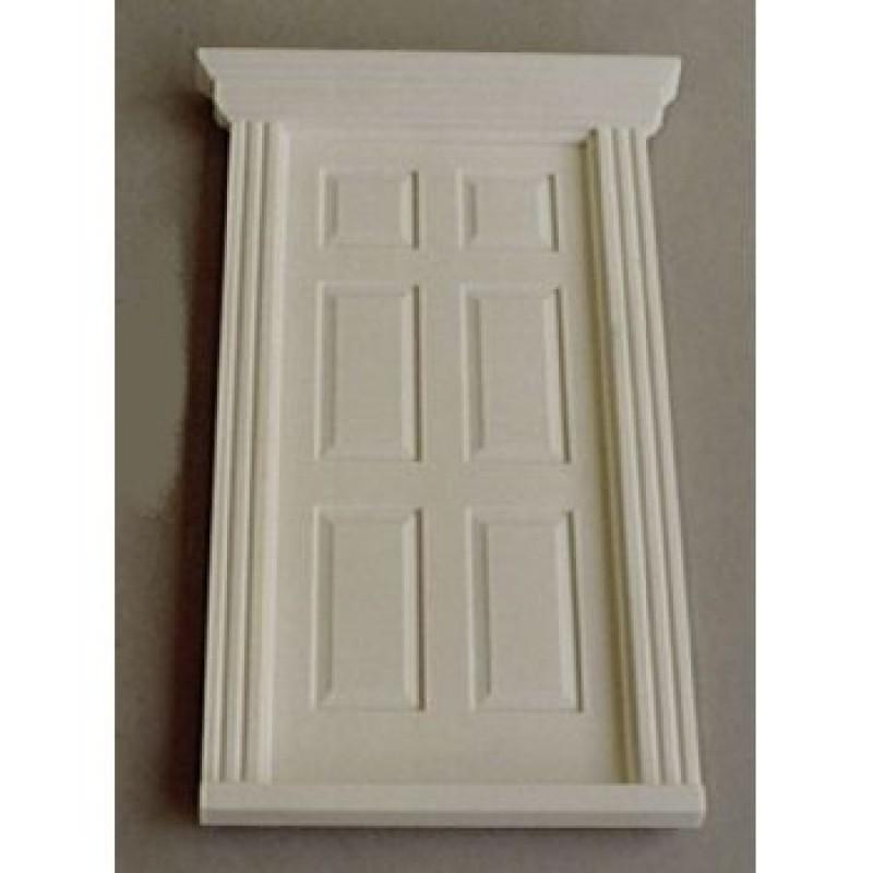 Small Georgian Front Plastic Door