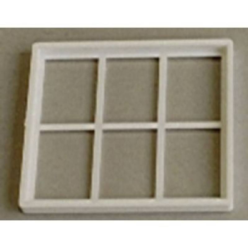 Plastic Georgian 6 Pane Window