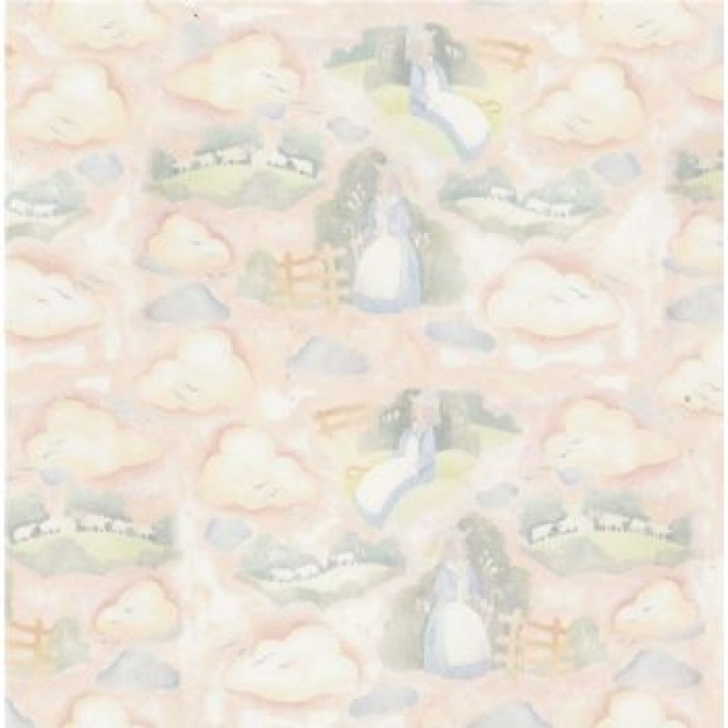Bo Peep Nursery Paper