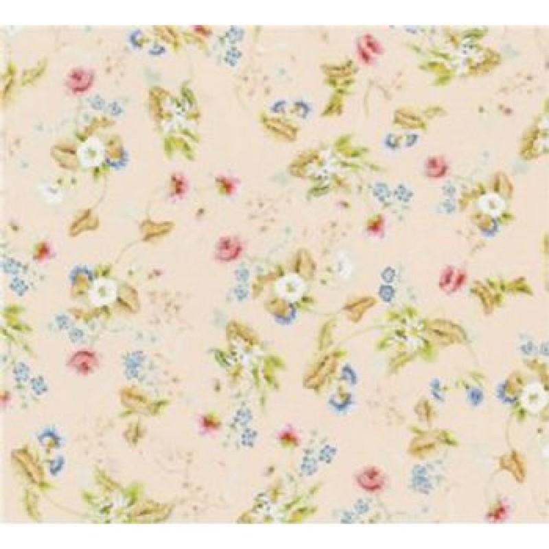 Rococo Silk Pink Wallpaper