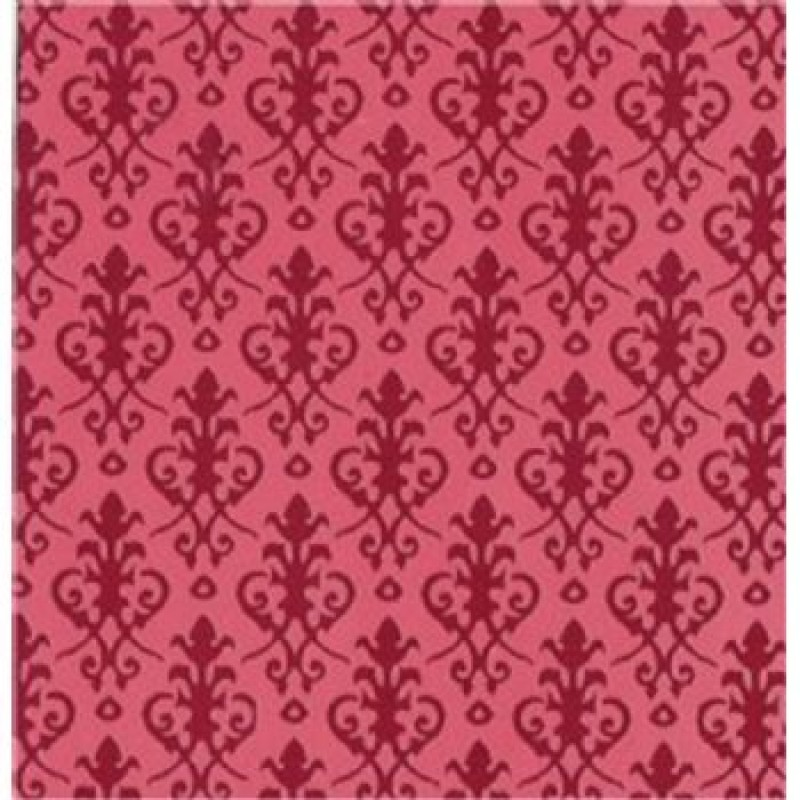 Victorian Red Wallpaper