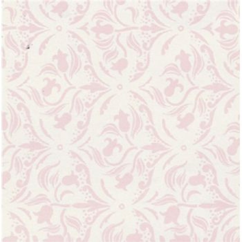 A3 Tulip Arabesque Pink/Cream Paper