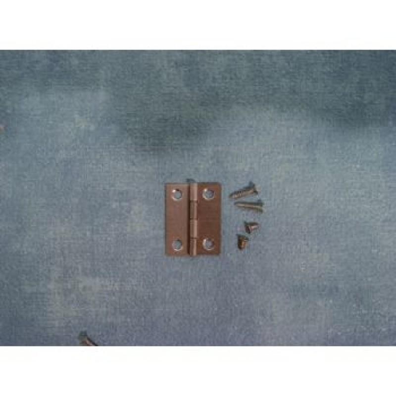 24mm Hinges and Screws, 4 pack