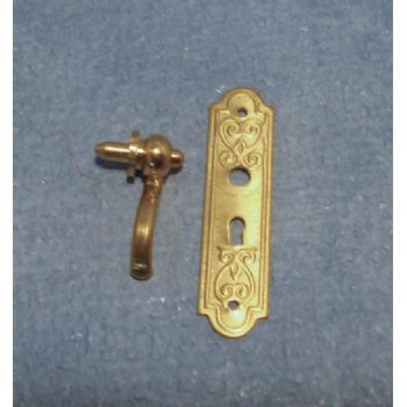 Door Handle and Plate Set
