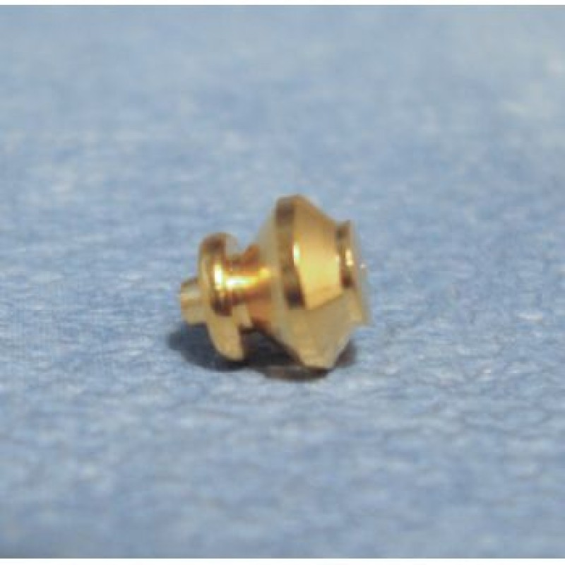 5mm Brass Knobs, 6 pack