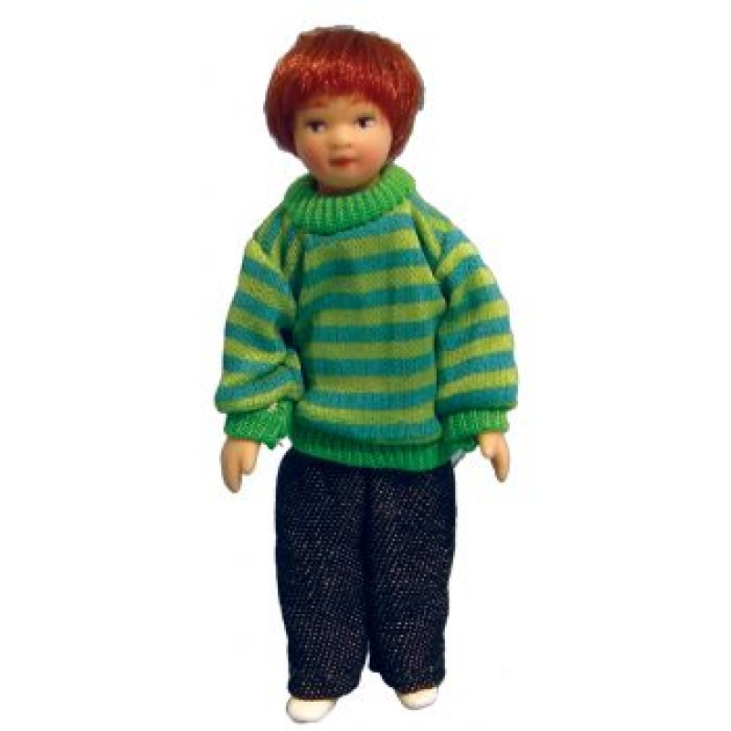 Modern Boy in Sweater Doll