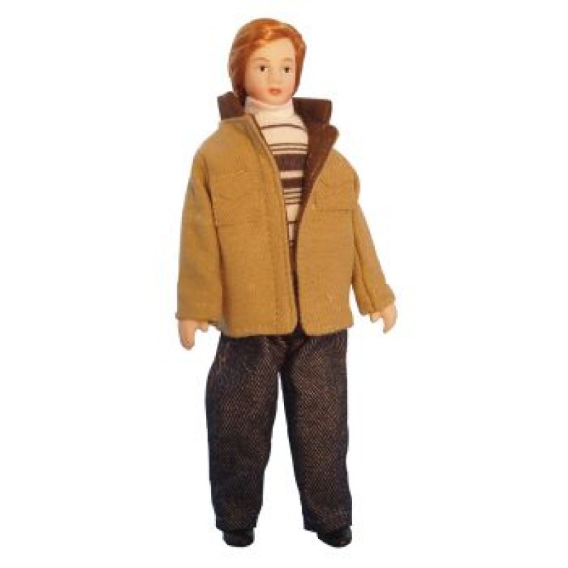 Modern Man in Jacket Doll