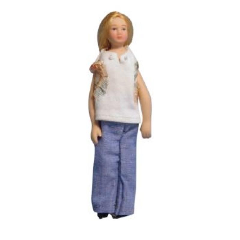 Modern Woman Doll in Jeans
