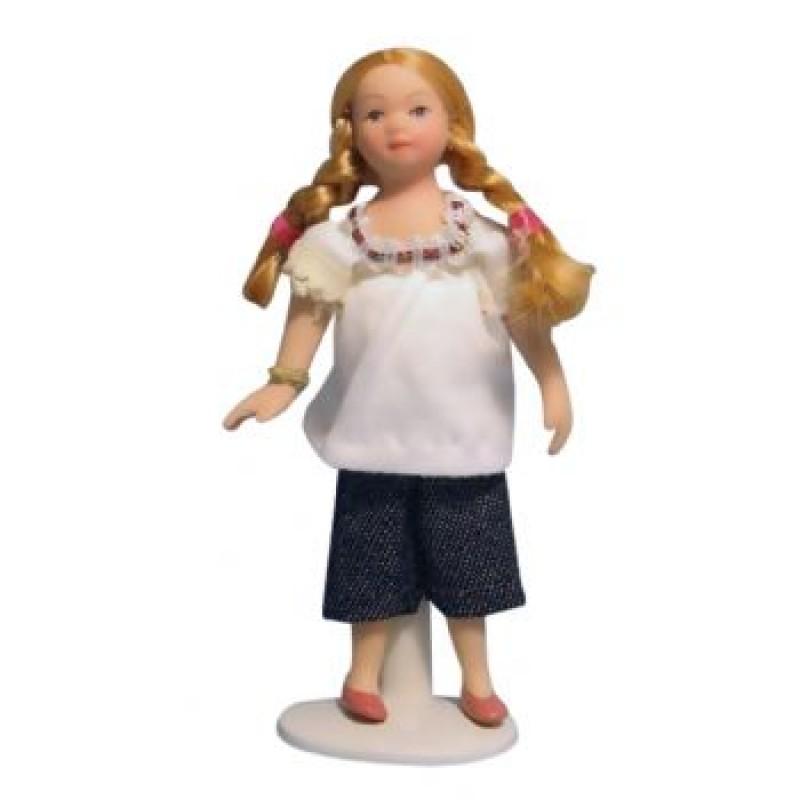 Modern Girl in Jeans Doll