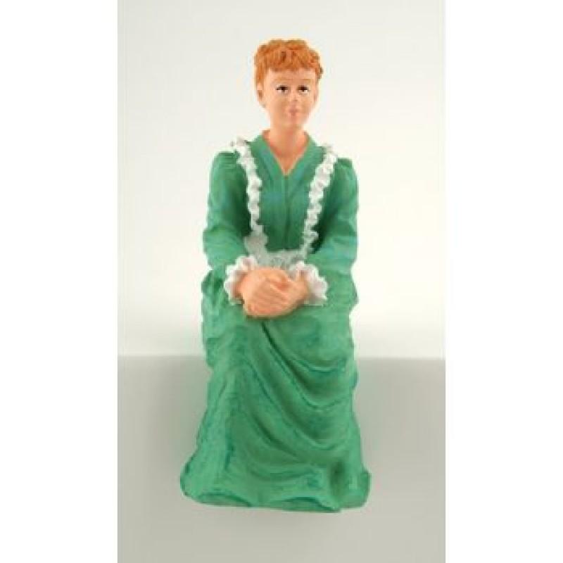 Sitting Victorian Lady