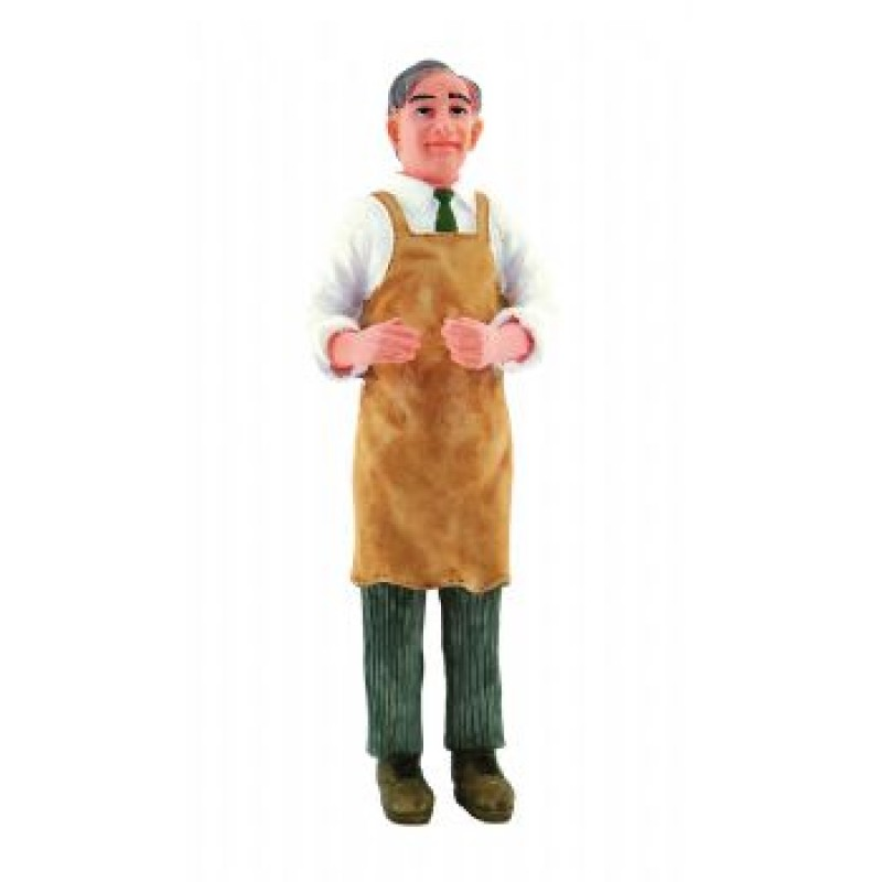 Butler / Shopkeeper with Brown Apron