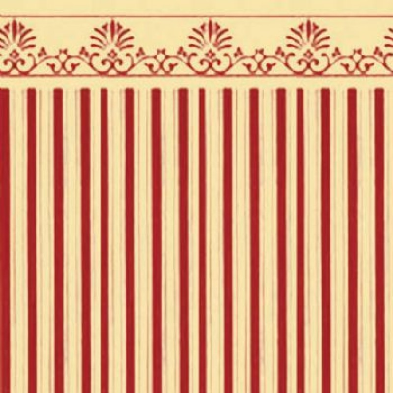 Red / Cream Majestic Paper