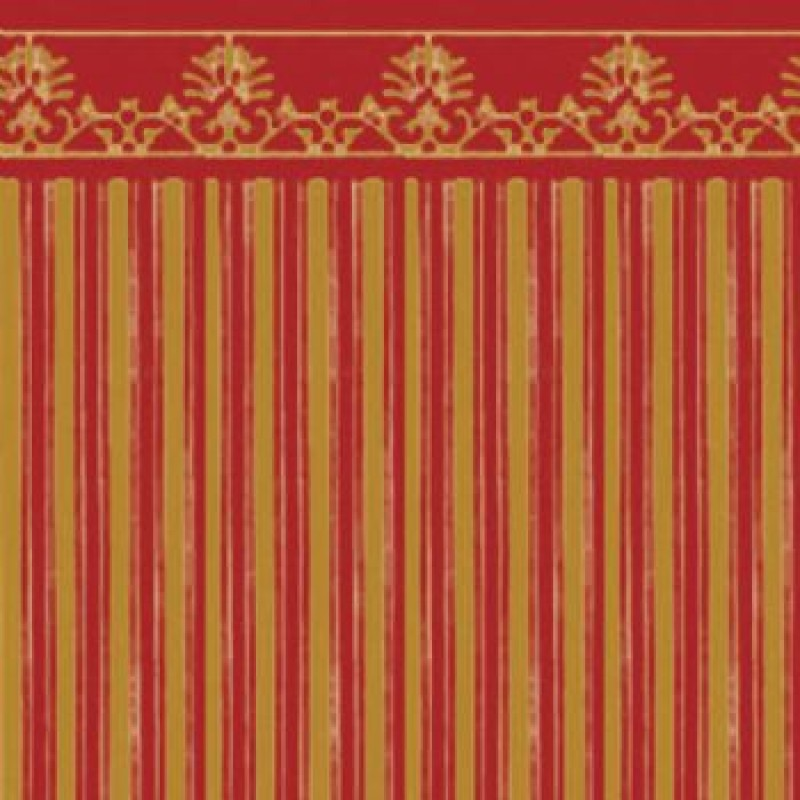 Gold / Red Majestic Paper