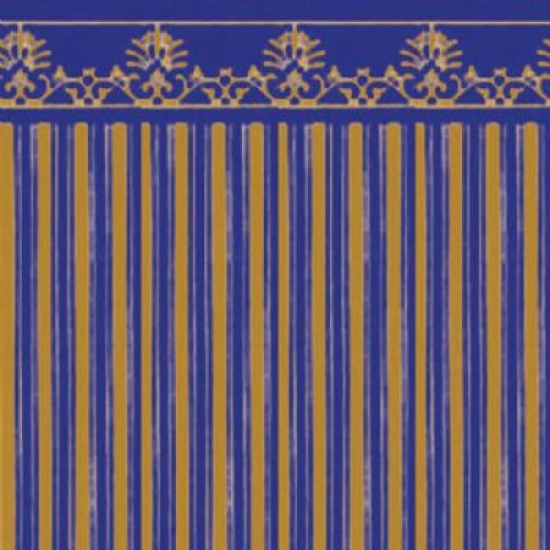 Gold / Blue Majestic Paper