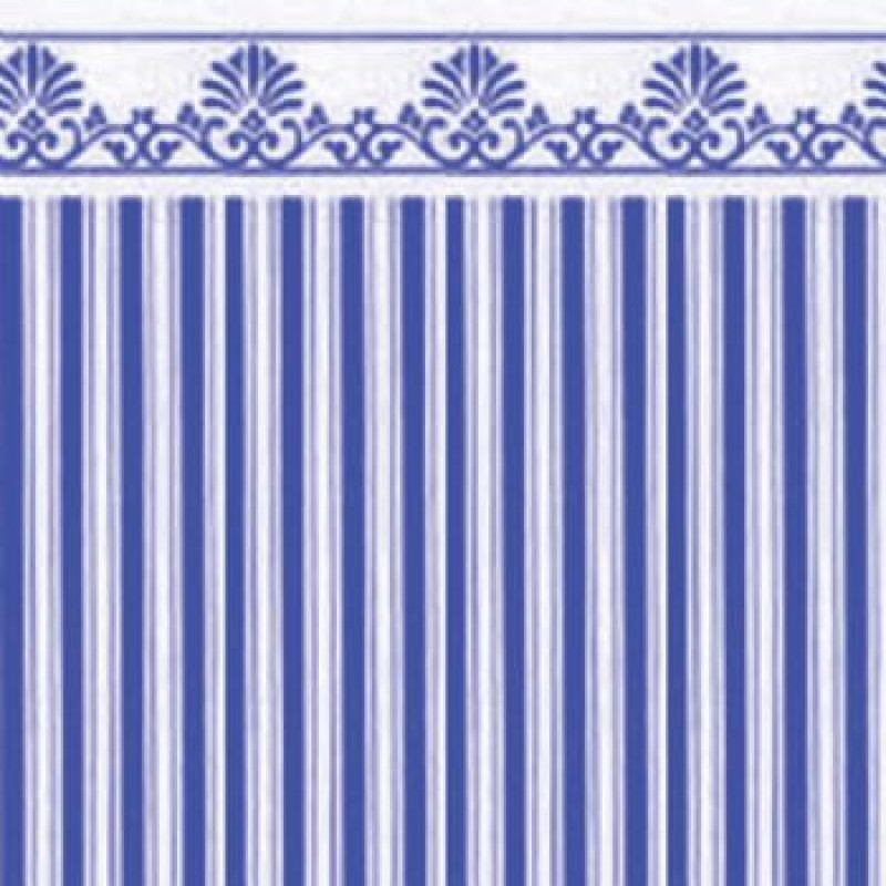 Blue / White Majestic Paper