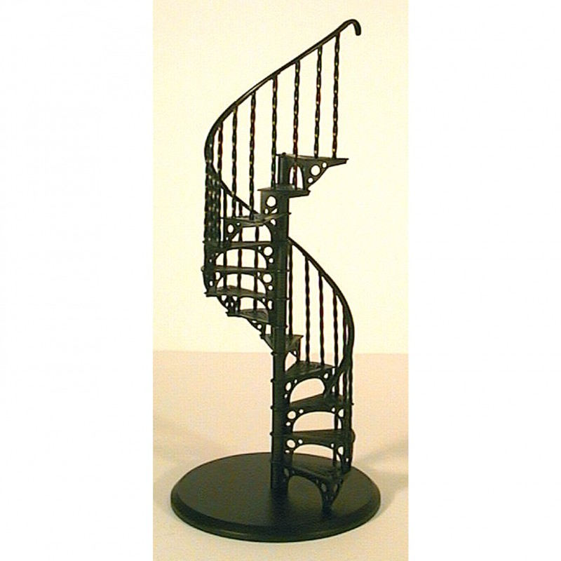 Glow Well Metal Spiral Staircase. SCASE