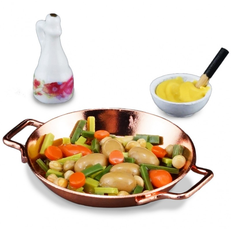 Vegetable Pan, 3 pieces