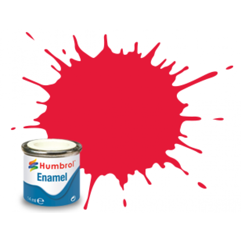 Humbrol 238 Arrow Red Gloss Paint