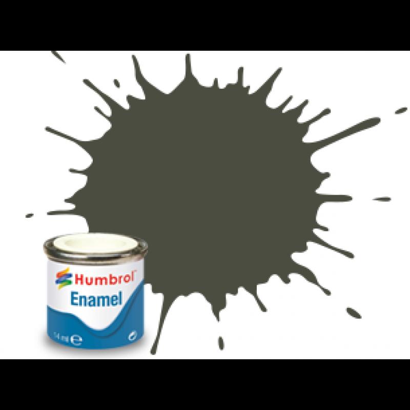 Humbrol 253 RLM 83 Dunkle-Grun Matt Paint