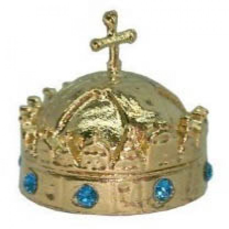 Crown of St. Stephen Hungary Royal Historic Regalia