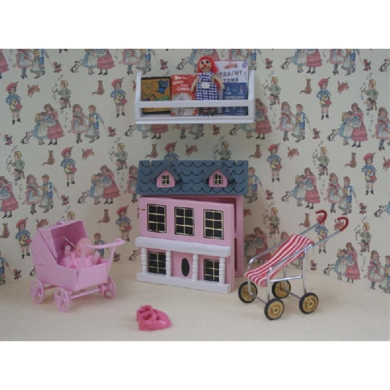 6pc Girls Pink Toys Play Set