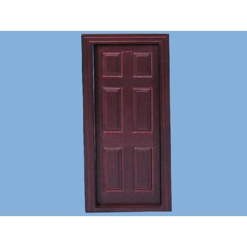 Mahogany Internal Door inc 2x architrave