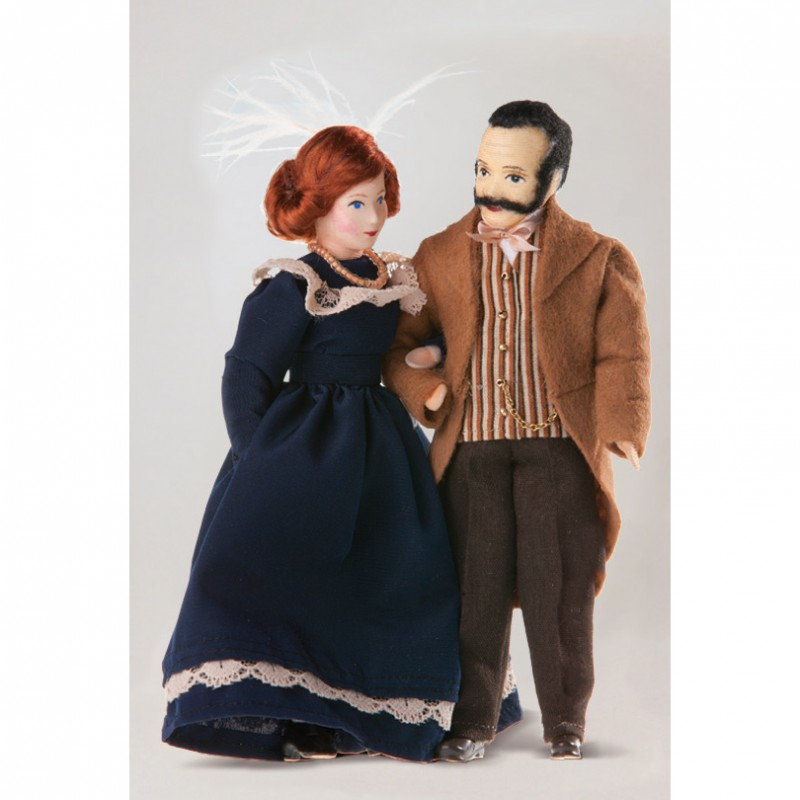 Lady and Lord Dolls, 2 pieces