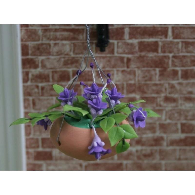 Hanging Basket - Mauve