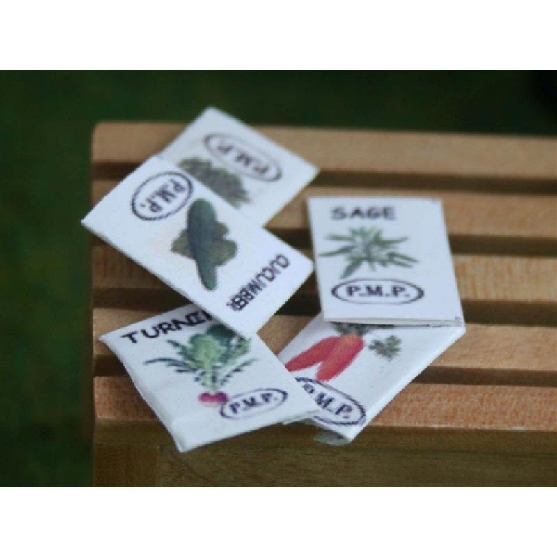 Set of 5 Seed Packets