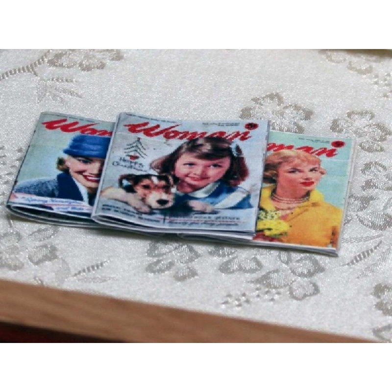 Woman Magazines Set of 3