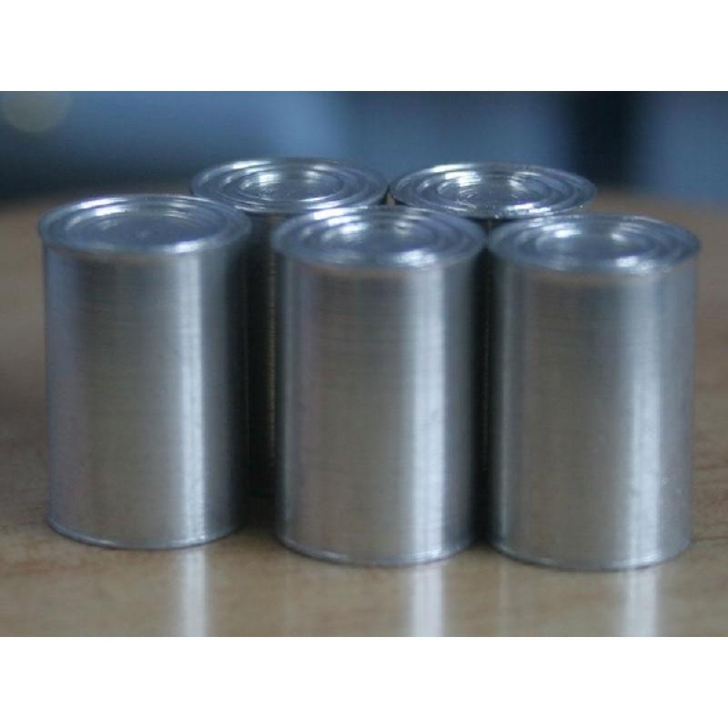 Set of 5 Large Tins (Blank)