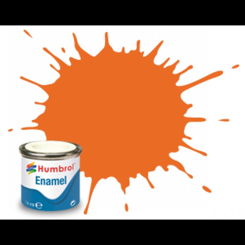Humbrol 046 Orange Matt Paint